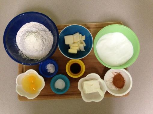 Snickerdoodles ingredients